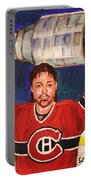 Patrick Roy Wins The Stanley Cup Portable Battery Charger