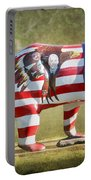 Patriot Bear Portable Battery Charger