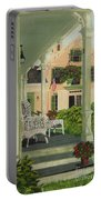 Patriotic Country Porch Portable Battery Charger