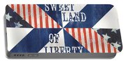 Patriotic Quilt 3 Portable Battery Charger