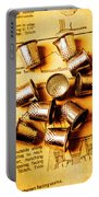 Patterns And Thimbles Portable Battery Charger
