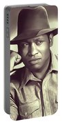 Paul Robeson, Vintage Actor And Singer Portable Battery Charger