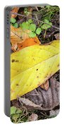 Paw Paw Leaf Fall Colors Portable Battery Charger