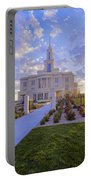 Payson Temple I Portable Battery Charger