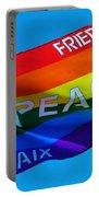 Peace - Paz - Paix Portable Battery Charger