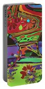 Peace Art Portable Battery Charger by Eleni Mac Synodinos