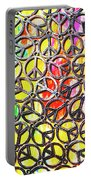 Peace In All Colours Portable Battery Charger