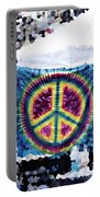 Peace In The Streets Portable Battery Charger