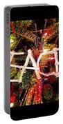 Peace Ornament Portable Battery Charger
