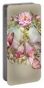 Peace Rose Portable Battery Charger