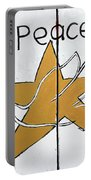 Peace Star Portable Battery Charger