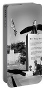 Peace Through Strength - Veterans War Memorial Portable Battery Charger