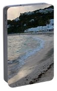 Peaceful Evening On Dawn Beach Portable Battery Charger
