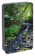 Peaceful Flowing Creek Portable Battery Charger