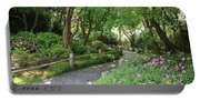 Peaceful Garden Path Portable Battery Charger