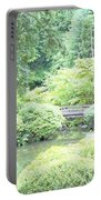 Peaceful Garden Space Portable Battery Charger