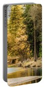Peaceful Mountain River Portable Battery Charger