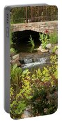 Peaceful Pond Portable Battery Charger