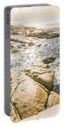 Peaceful Sun Flared Australian Coastline Portable Battery Charger