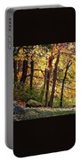 Peaceful Trees Portable Battery Charger