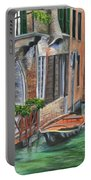 Peaceful Venice Canal Portable Battery Charger