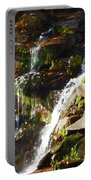Peaceful Waterfall Portable Battery Charger