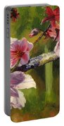 Peach Blossom Time Portable Battery Charger