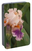 Peach Iris Portable Battery Charger