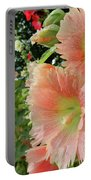 Peaches And Petals Portable Battery Charger