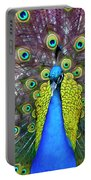 Peacock Art Portable Battery Charger