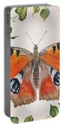 Peacock Butterfly-jp3878 Portable Battery Charger