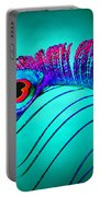 Peacock Feathers 5 Portable Battery Charger