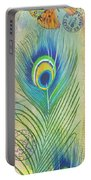 Peacock Feathers-jp3609 Portable Battery Charger