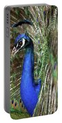 Peacock Mating Season Portable Battery Charger