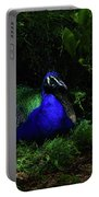 Peacock Peafowl Portable Battery Charger