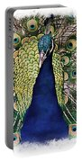 Peacock Vignette Portable Battery Charger