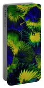 Peacocks On The Run Portable Battery Charger