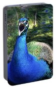 Peacocks Squawk Portable Battery Charger