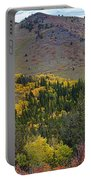 Peak To Peak Highway Boulder County Colorado Autumn View Portable Battery Charger