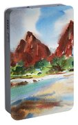 Peaks Of Zion Portable Battery Charger