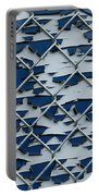 Pealing Paint Fence Abstract 2 Portable Battery Charger