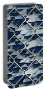 Pealing Paint Fence Abstract 3 Portable Battery Charger