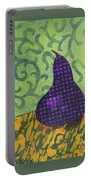 Pear Patterns Portable Battery Charger