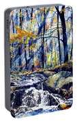 Pebble Creek Autumn Portable Battery Charger