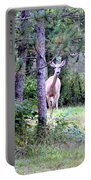 Peekaboo Deer Portable Battery Charger