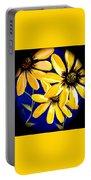 Peekaboo Sunflowers Portable Battery Charger