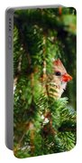 Peeking From The Pines Portable Battery Charger