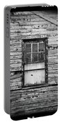 Peeling Wall And Cool Window At Fort Delaware On Film Portable Battery Charger