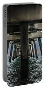 Peering Beneath The Pier Portable Battery Charger by Gary Keesler