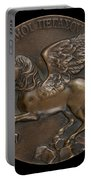 Pegasus Soaring Above Parnassus [reverse] Portable Battery Charger